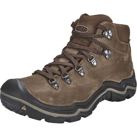 Keen Feldberg WP Shoes Men Dark Earth/Cascade Brown